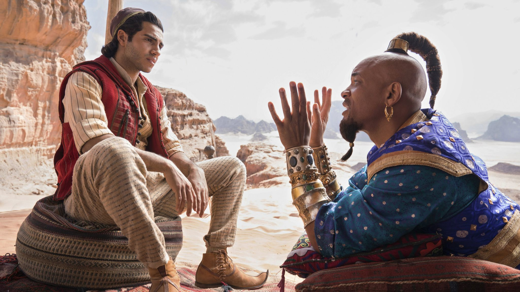 'Aladdin' review: A whole new same old world ... this time with Will Smith