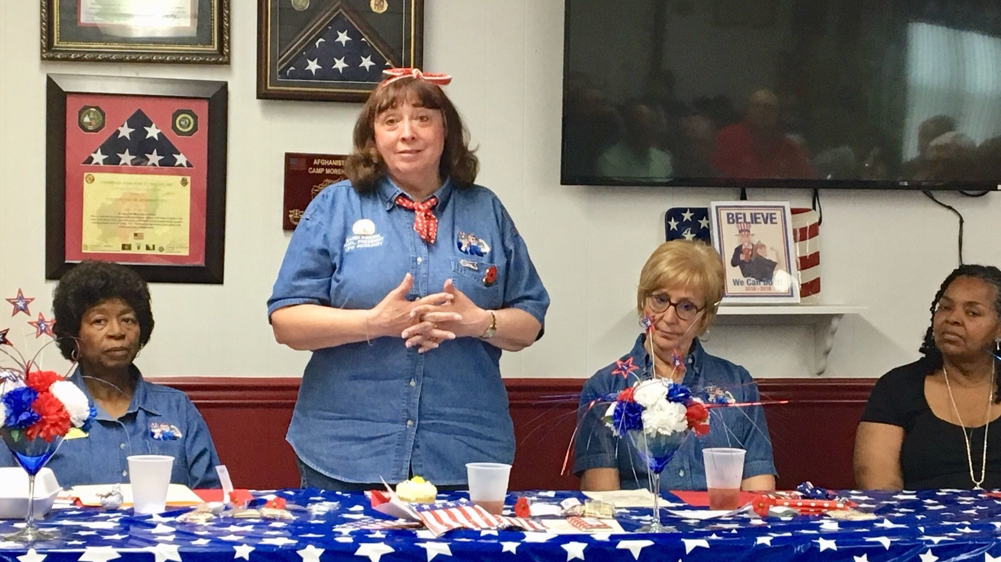 Port Deposit: National VFW Auxiliary president visits Maryland