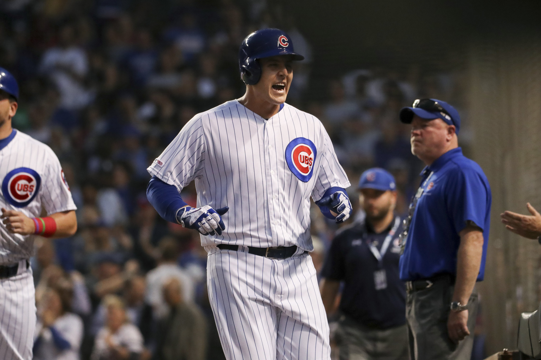 Joe Maddon keeps Albert Almora Jr. in the bottom half of the Cubs lineup, and the center fielder keeps producing