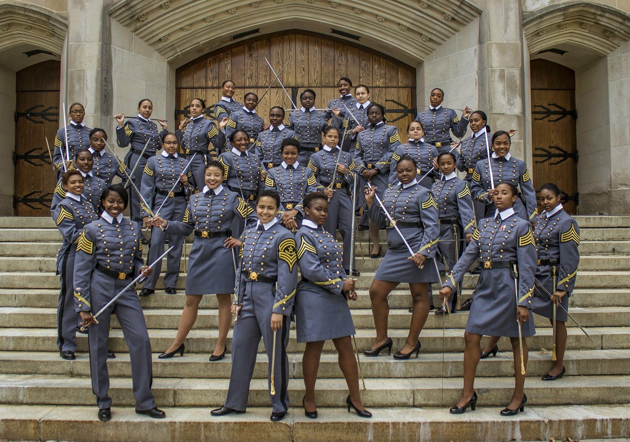 West Point will graduate a record number of black female cadets