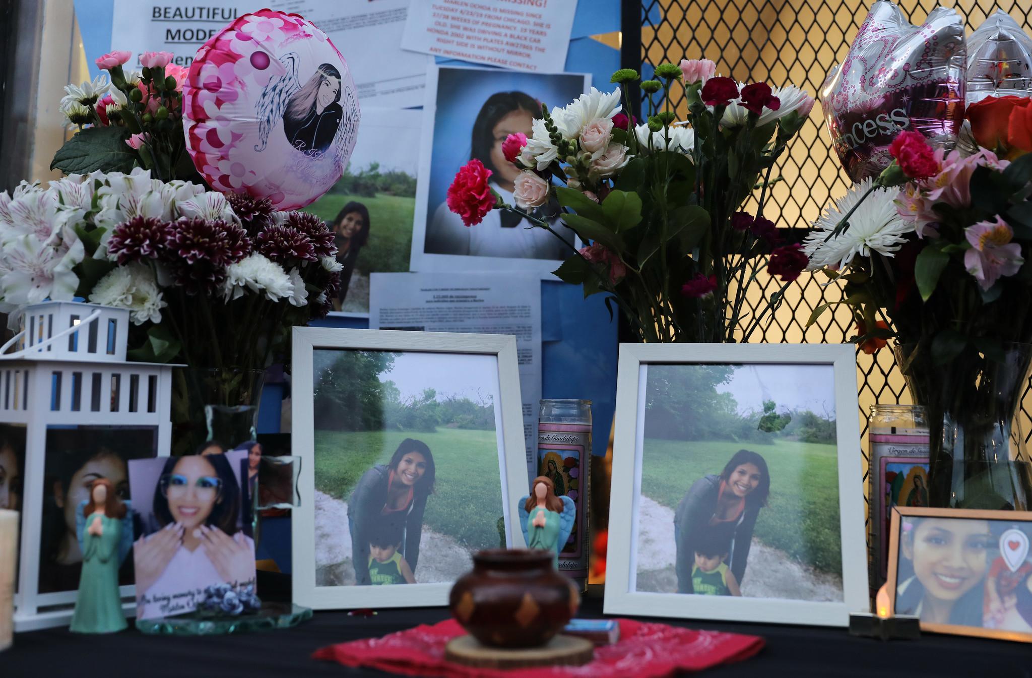 Crowds gather to mourn Marlen Ochoa-Lopez during visitation