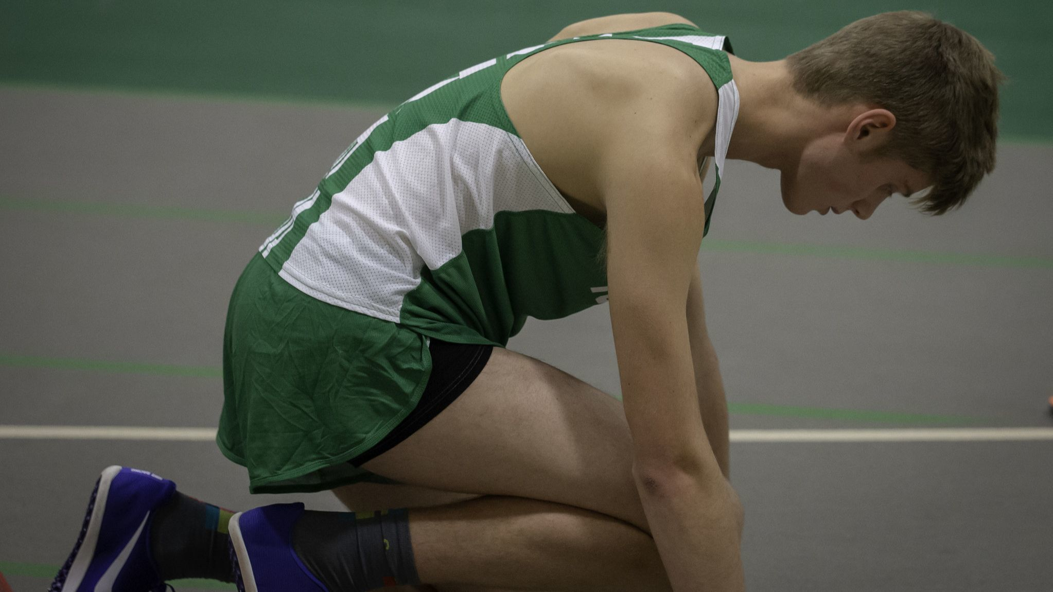 York's Eric Sylvester, a cancer survivor, now a state qualifier in boys track