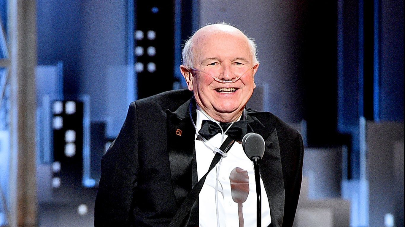 Terrence McNally's lifetime award speech at the Tonys was ignored — but it was perhaps the most important of the night
