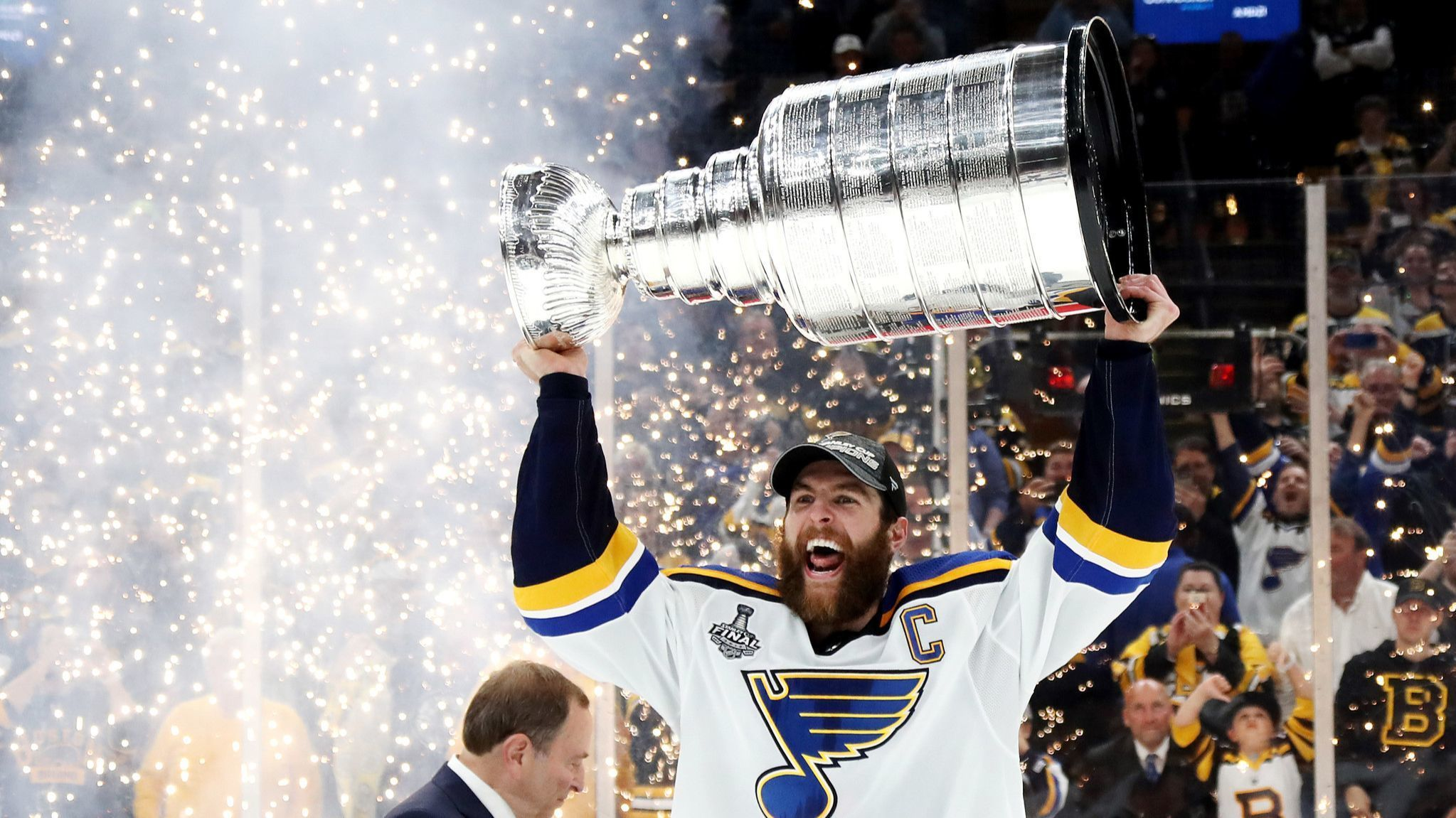 Blues defeat Bruins in Game 7 to win franchise's first Stanley Cup