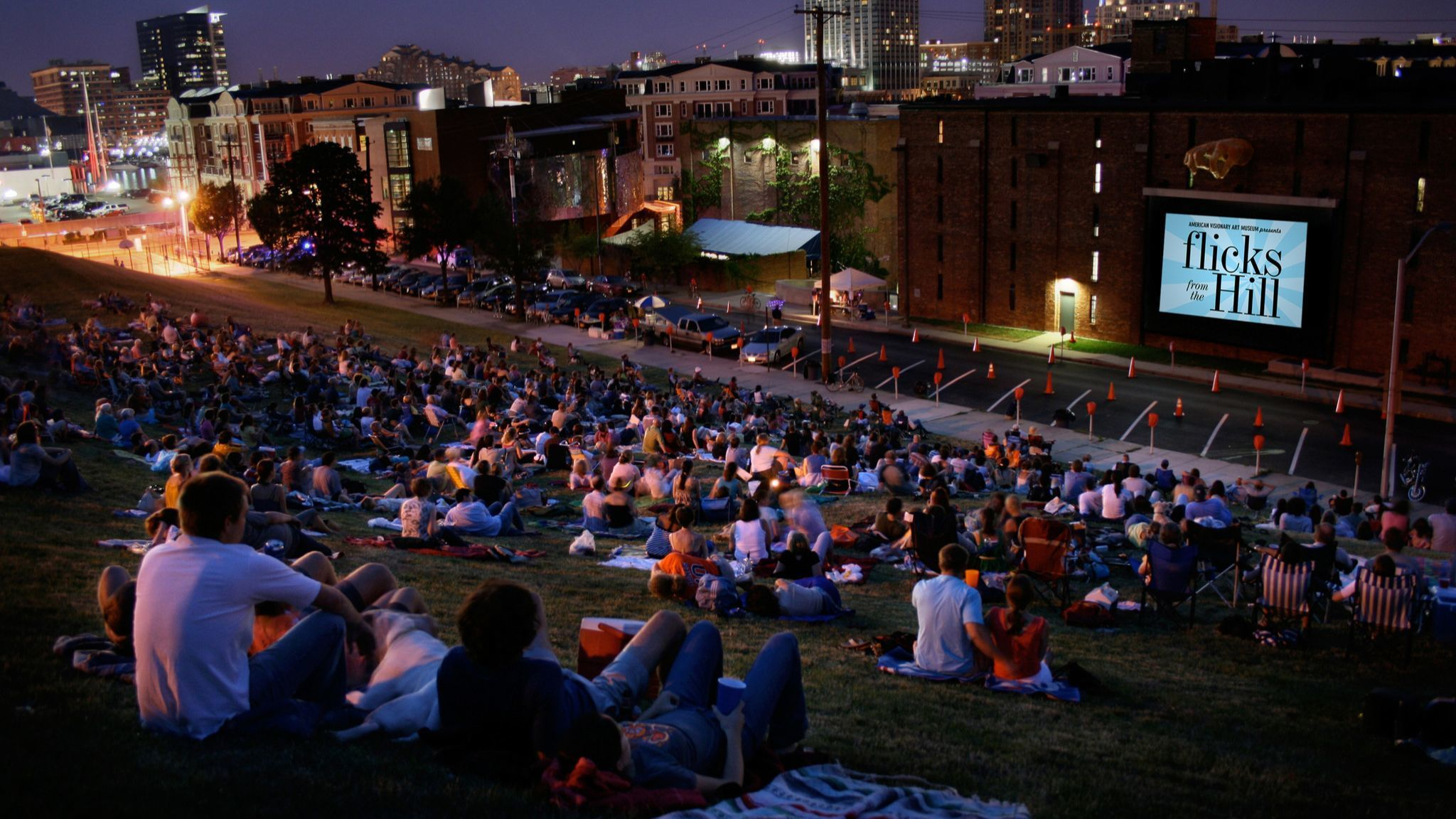 A guide to outdoor movies around the Baltimore region