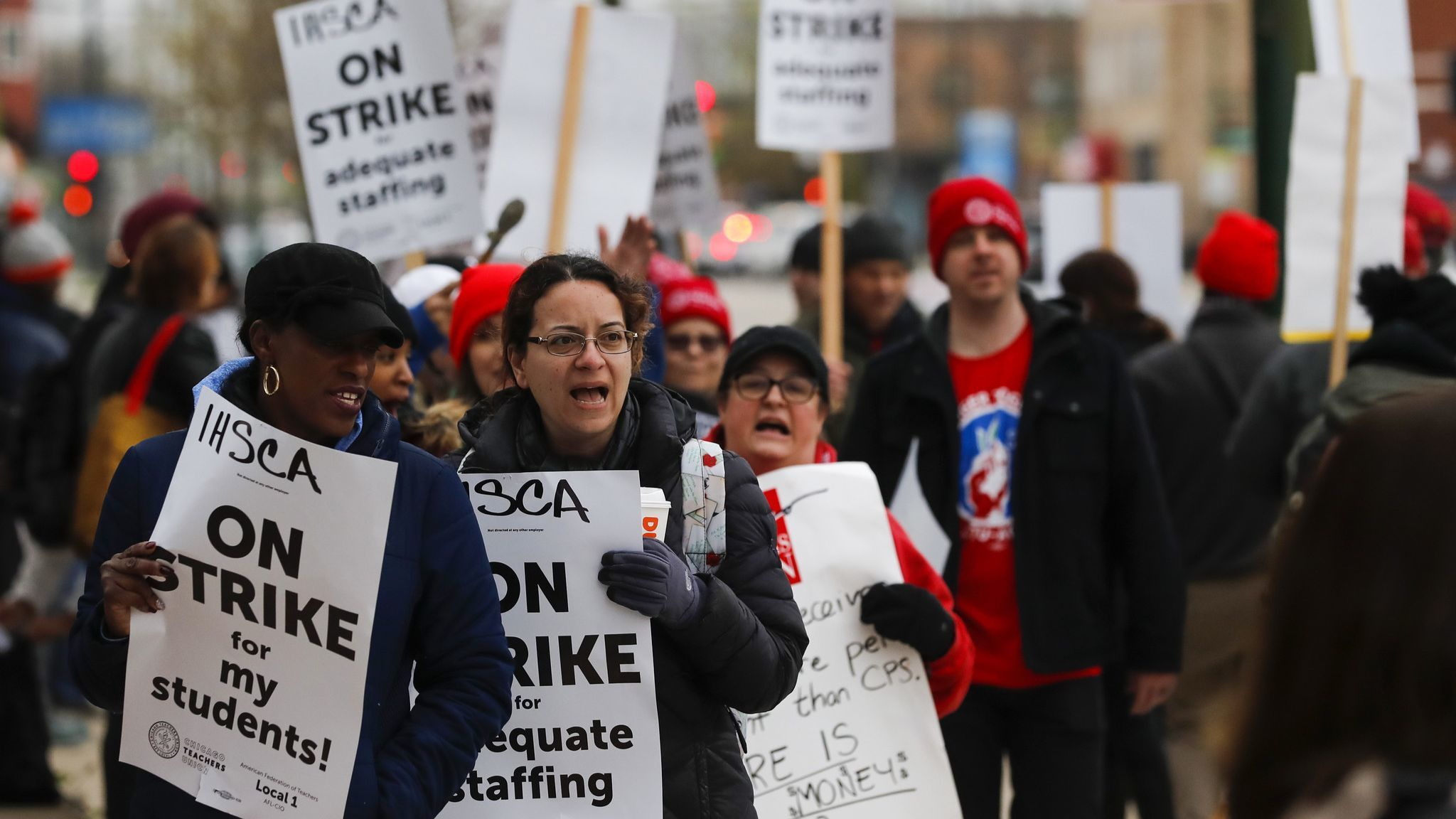Chicago teacher contract talks underway as union casts wary eye toward new mayor