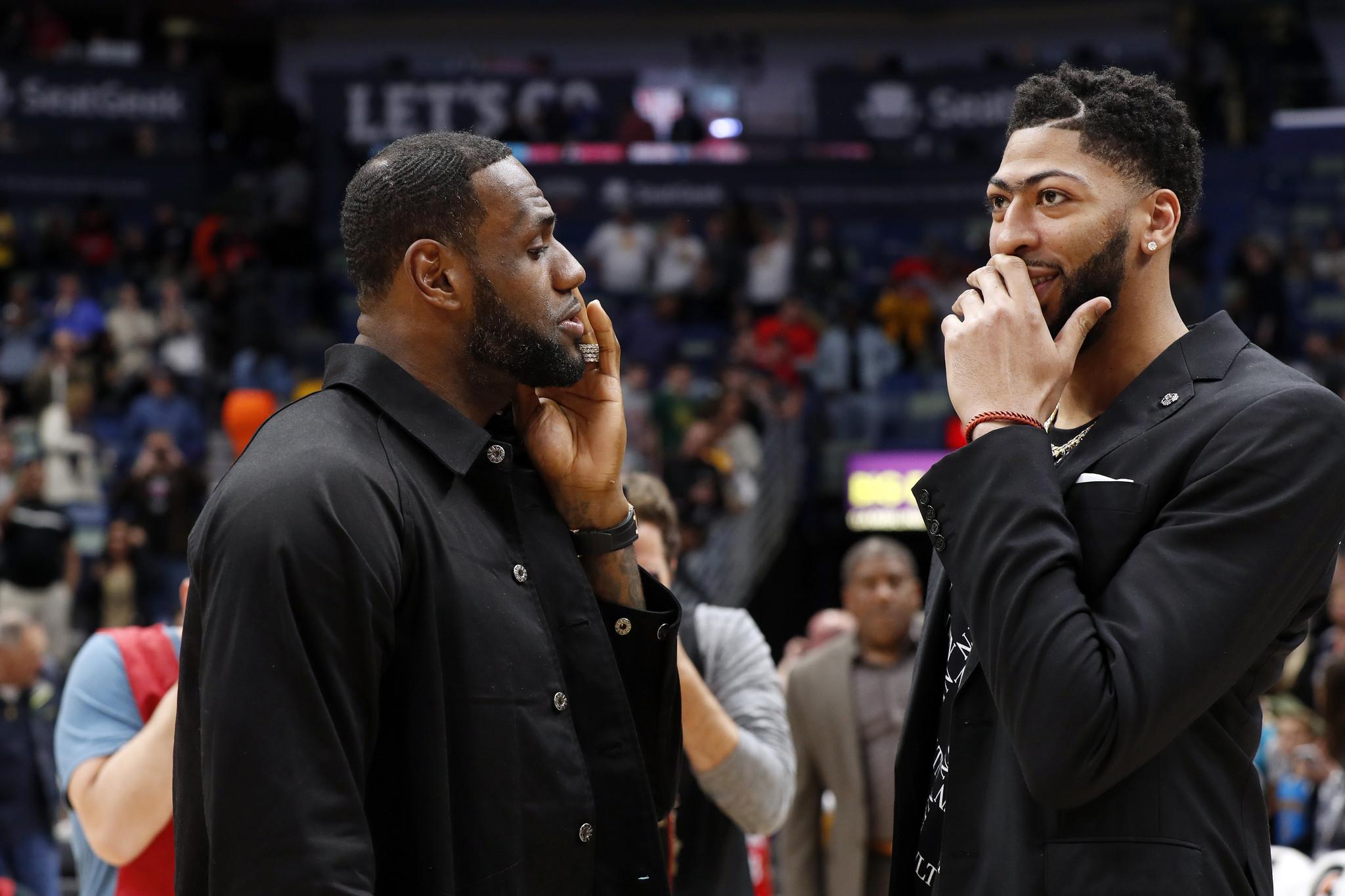Anthony Davis trade gives Lakers championship hopes