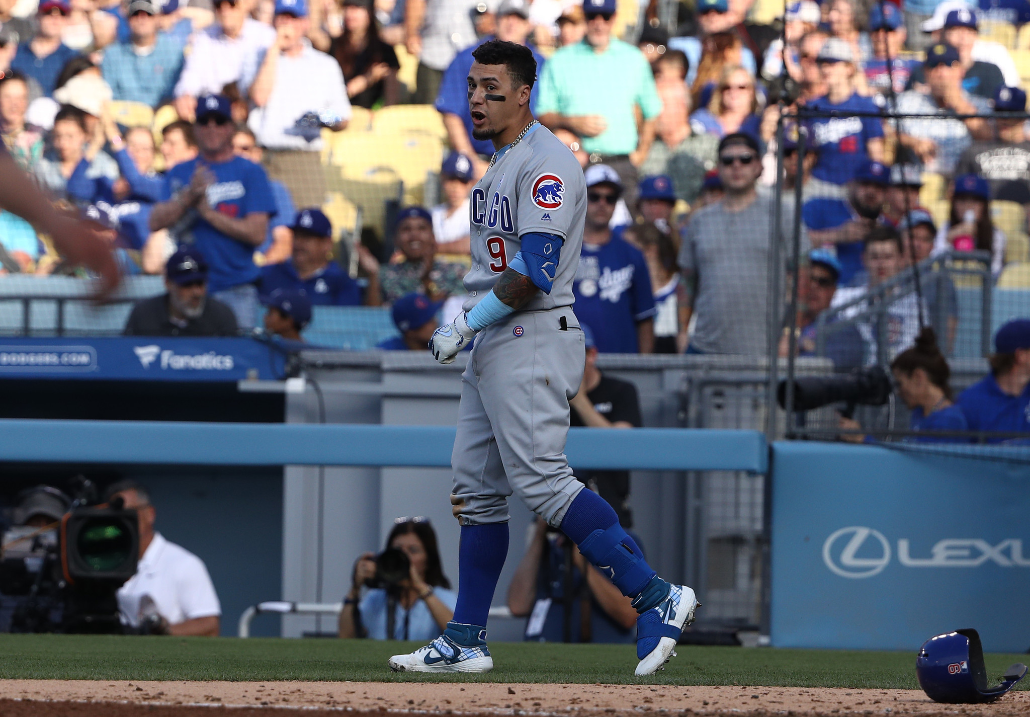 As the Cubs' grueling stretch rolls on, their road woes continue in a 3-2 loss to the Dodgers that ends a 2-5 trip