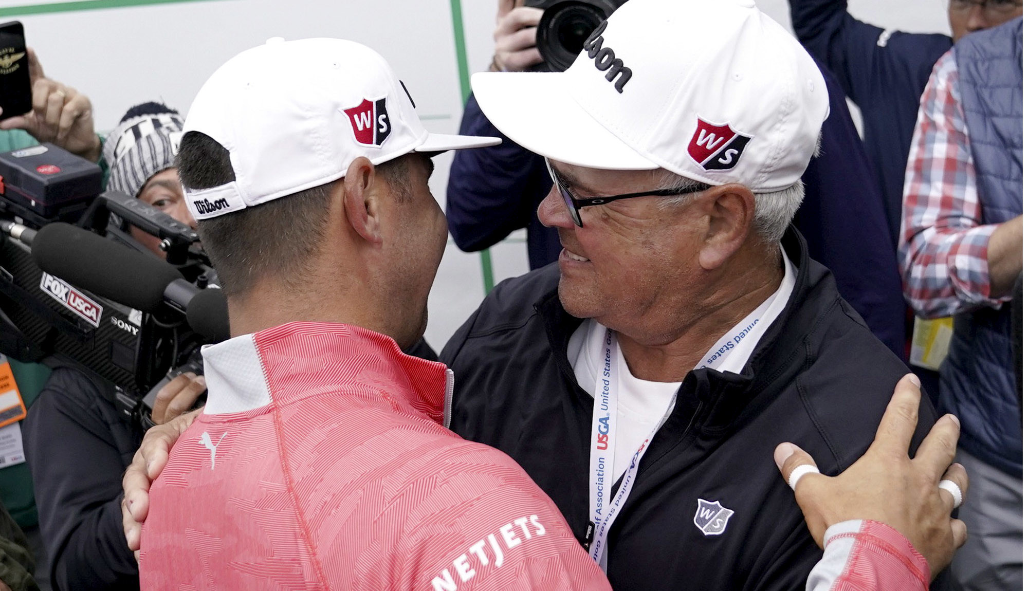 Gary Woodland had a special Father's Day at U.S. Open, one his dad almost missed