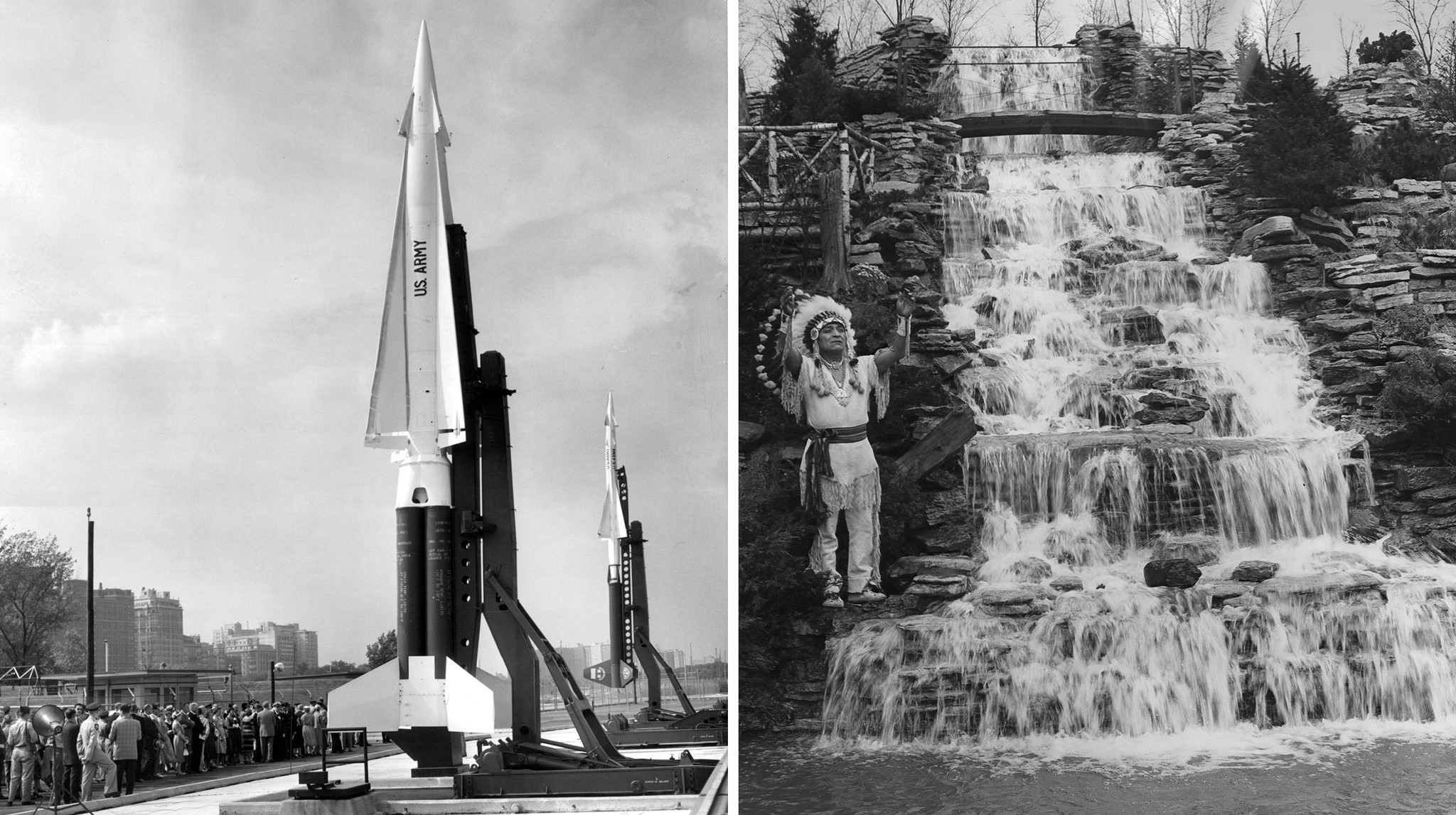 Ask Rick: Former Nike missile bases on our lake, a rug company's waterfall and other weirdness