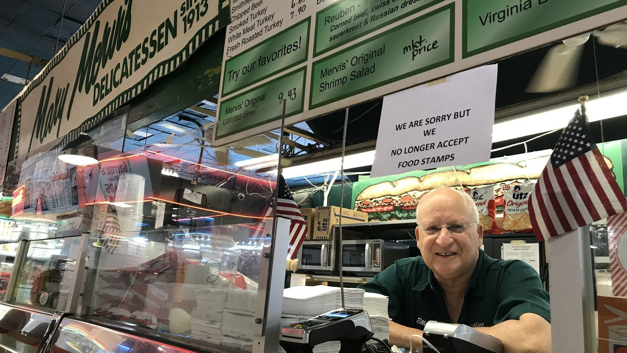 Changing food stamp rules cause drop in sales for some Lexington Market vendors