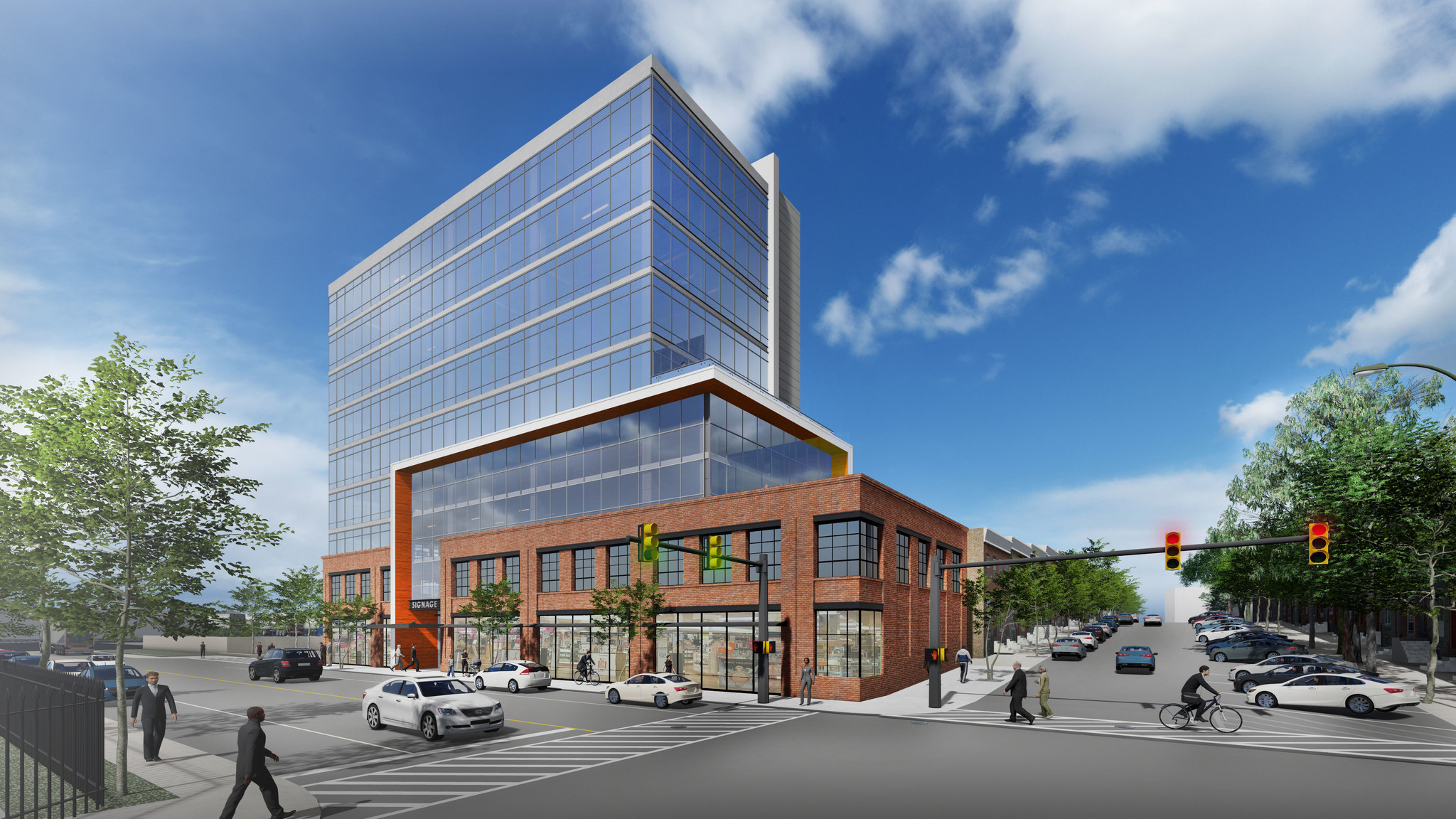Controversial Key Highway office building to move ahead, opening in 2021