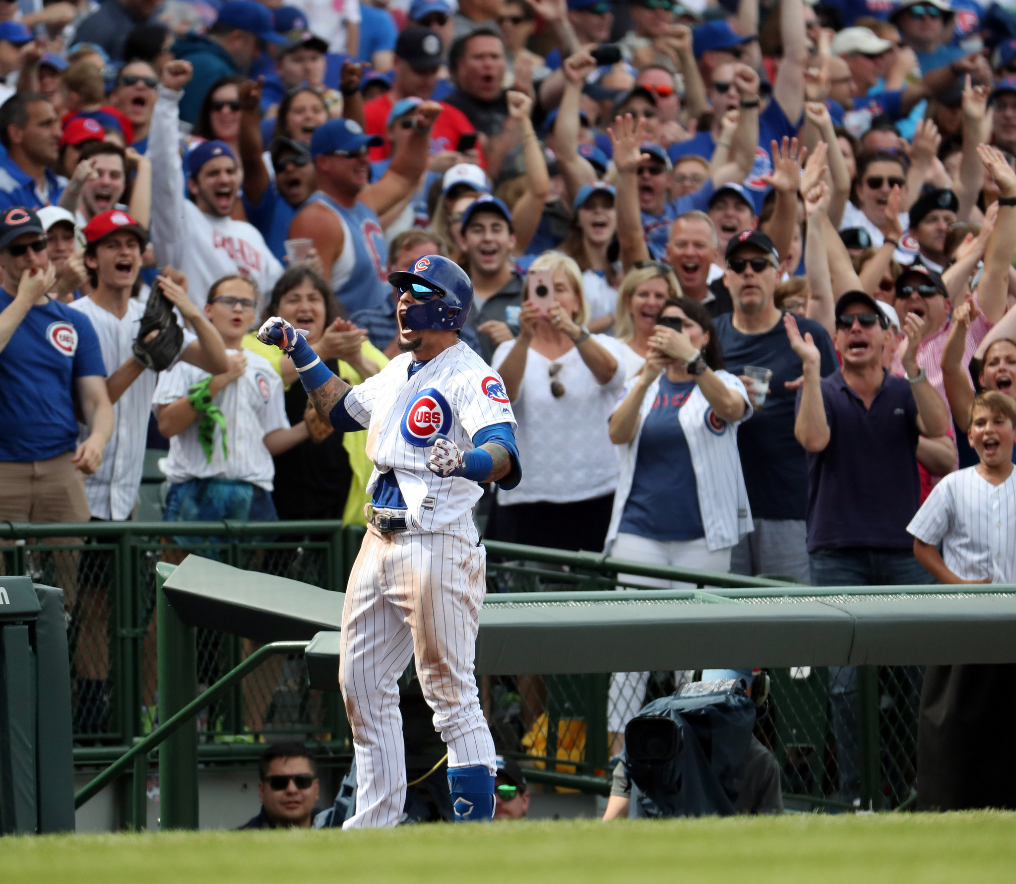 4 takeaways from the Cubs-Mets series, including Javier Baez's big moment, Anthony Rizzo's odd run and Cole Hamels' 'shocking' single