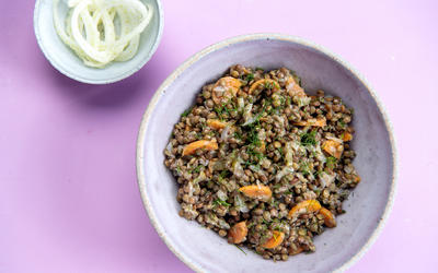 Vegan Lentil and Fennel Salad