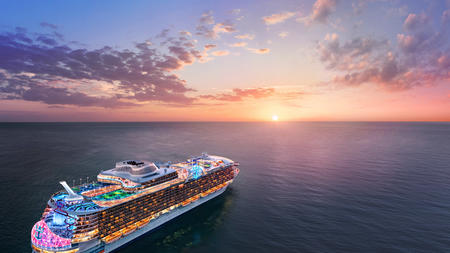 Royal Caribbean S Next World S Largest Cruise Ship Gets A Name But Won T Be Headed To Florida Daily Press