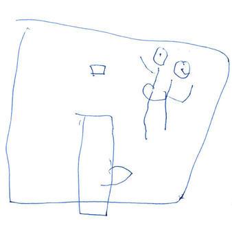 Middlefork School drawing
