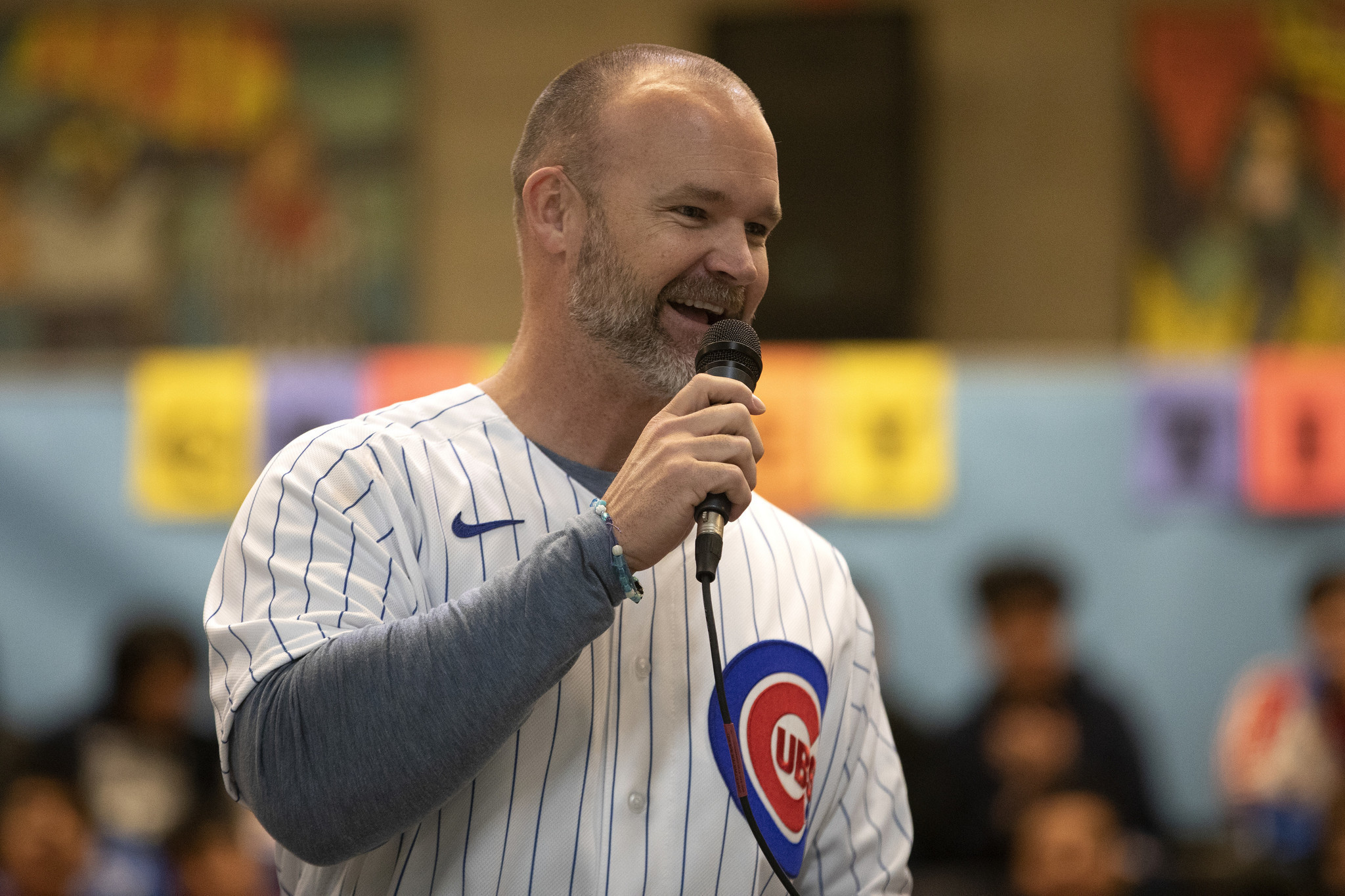 Column: David Ross is OK with being called 'Rossy,' 'Skip,' even 'Grandpa.' But the new Cubs manager wants to be known as more than 'Theo's guy.'