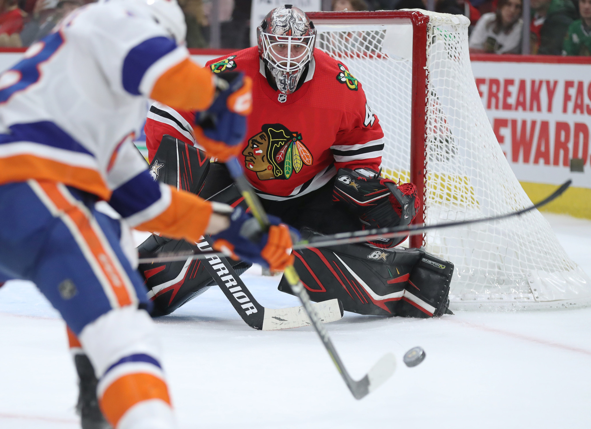 Blackhawks at the break: 4 positives and 4 negatives, from Robin Lehner being a game changer to an ineffective power play