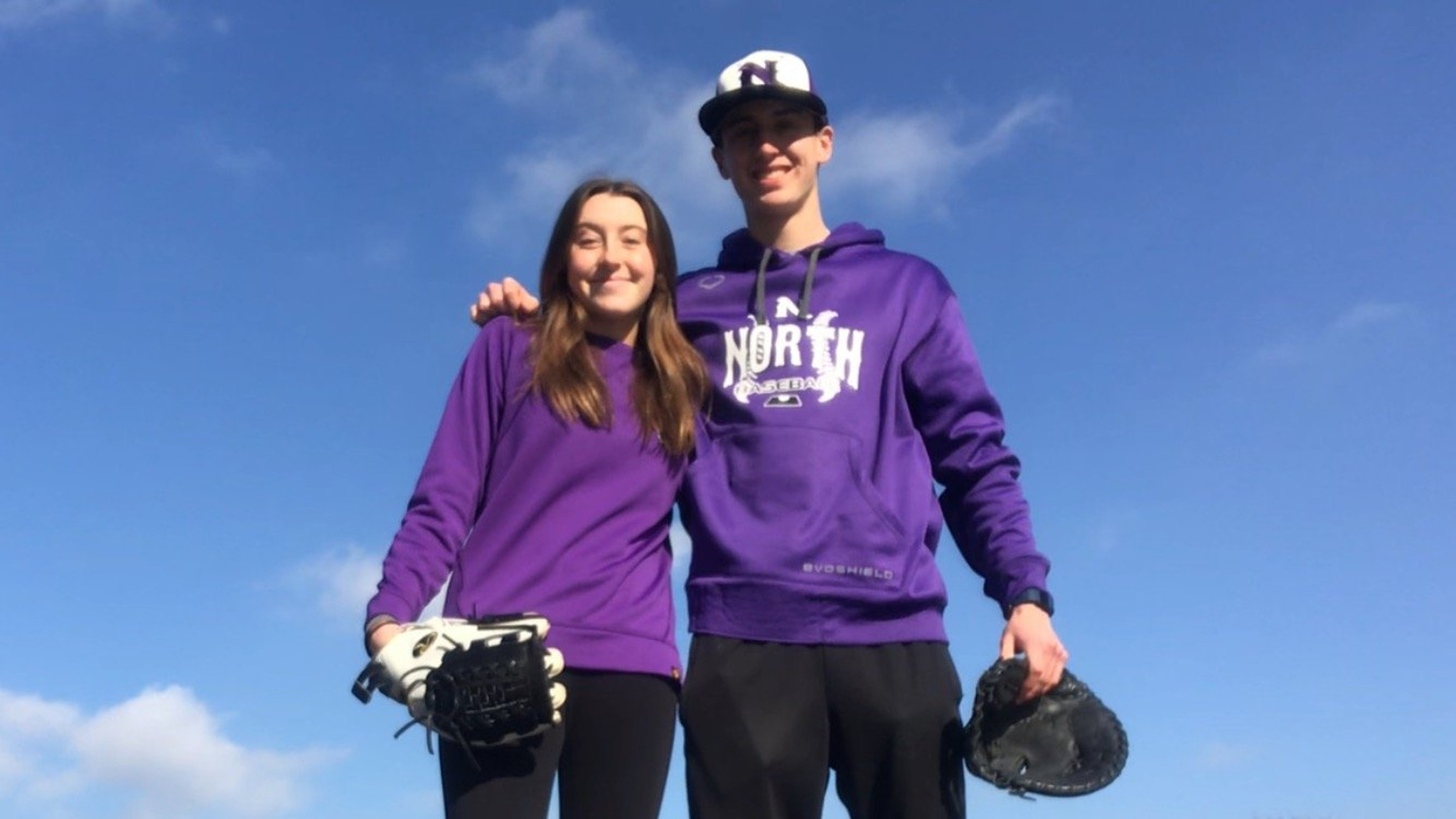 High school athletes aim to stay in shape while complying with stay-at-home order