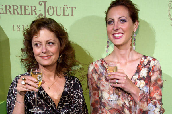 "Susan Sarandon's daughter Eva Amurri, right, has appeared in several film and television shows including 2004's ""Saved"" and the series ""Californication."""