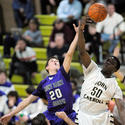 Mount St. Joseph at John Carroll in boys basketball