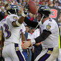 Ravens beat Titans in dramatic fashion