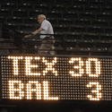 4. Rangers embarrass Orioles, 30-3, Aug. 22, 2007