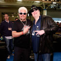 Guy Fieri and John Popper