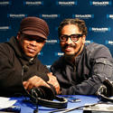 Sway and Rohan Marley