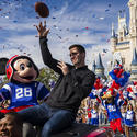 Joe Flacco Goes To Disney World