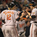 Matt Wieters, Mark Reynolds, Nolan Reimold