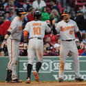 Matt Wieters, Adam Jones, Nick Markakis