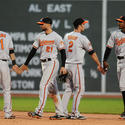 Robert Andino, Nick Markakis, J.J. Hardy, Adam Jones