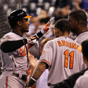 Adam Jones, Robert Andino