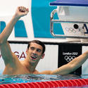 Michael Phelps wins 100-meter butterfly