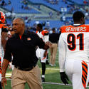 Marvin Lewis, Michael Johnson Robert Geathers