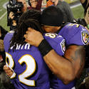 Torrey Smith, Ray Lewis