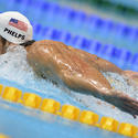 Michael Phelps in London: 400-meter IM prelims