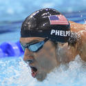 Michael Phelps in London: 400-meter IM final