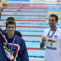 Michael Phelps, Milorad Cavic