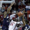No. 17 Oklahoma 95, Mount St. Mary's 71