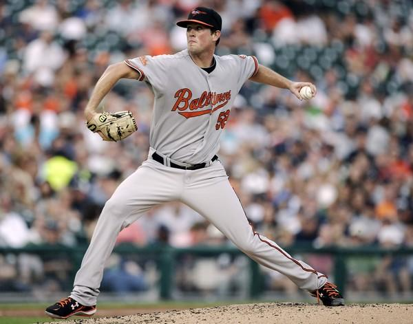 Brian Matusz tossed five innings to lead the Orioles over the Detroit Tigers, 8-2, in his major league debut. Matusz held the Tigers to one run and six hits in the game, throwing 65 of his 99 pitches for strikes. During his first season in the majors, Matusz was 5-2 with a 4.63 ERA in eight starts.