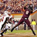 Virginia Tech's Greg Boone scores
