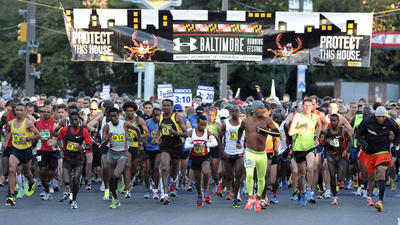 Oct. 14: Baltimore Marathon