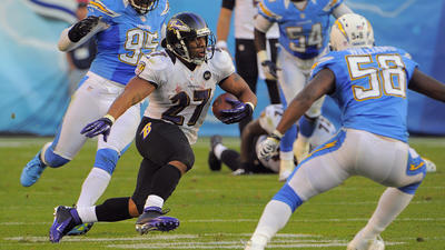 Nov 26: Ravens short-circuit Chargers