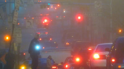 Dec. 18: Foggy commute