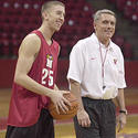 Steve Blake and Gary Williams