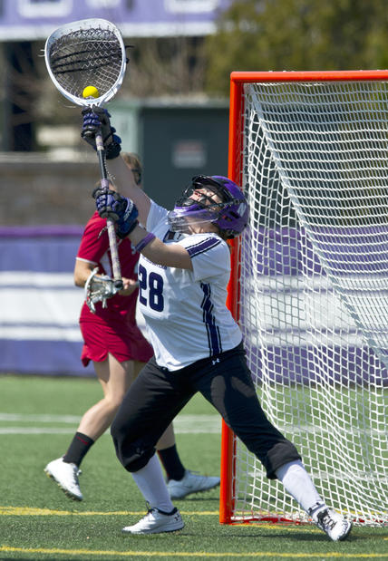 A third-team All-American as a sophomore, Bianco made 14 saves -- one short of the school record -- in the season-opening 13-12 win over No. 8 Virginia Saturday in Atlanta. Bianco, who is from Moorestown, N.J., had seven saves in each half as the Wildcats rallied from an 8-6 halftime deficit. Her final save, with 54 seconds left, preserved a 12-12 tie and led to the offensive drive that concluded in Kate Macdonald's game-winning free-position goal with 17 seconds left. Bianco had a 7.63 goals-against average last season.
