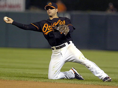 Second baseman Brian Roberts has been with the Orioles organization since the team drafted him in 1999. In Mitchell's report, former teammate Larry Bigbie stated that he never saw Roberts use steroids, but said Roberts admitted that he injected himself once or twice in 2003.