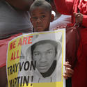 Justice for Trayvon rally in Baltimore